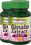 3-Banaba Extract (2% Corosolic Acid), 100 mg - 90 Capsules