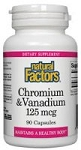 3 - Natural Factors Chromium & Vanadium